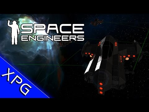 "Space Engineers : Wave Survival Mod ""Simple AI"" Invaders + Kill Counter"