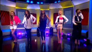 The Saturdays - Gentleman (Live This Morning)