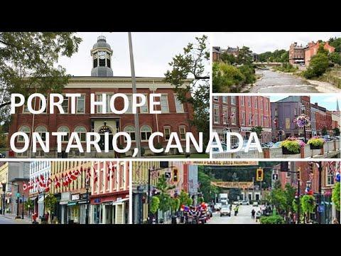 Walking Tour - Port Hope Ontario Canada