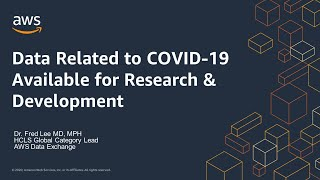 Data Related to COVID-19 Available for Research & Development