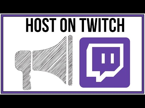 How To Host A Channel On Twitch - Full Tutorial