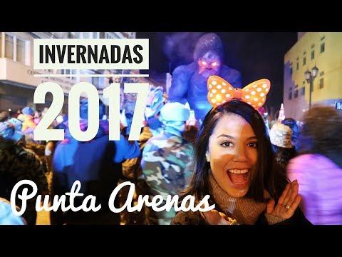 KING KONG, BATUCADAS Y BAILE - CARNAVAL DE INVIERNO PUNTA ARENAS 2017