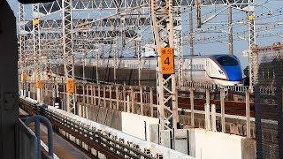 上越・東北新幹線と埼玉ニューシャトル!