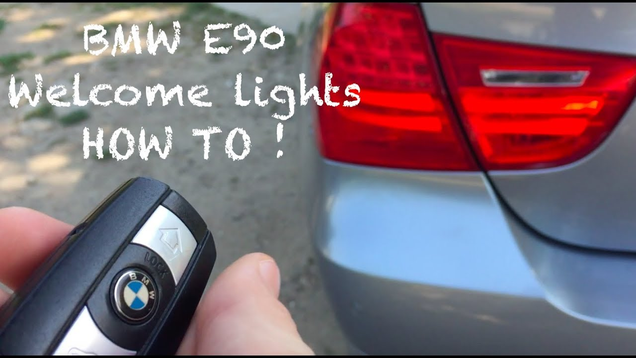 Bmw E90 Welcome Lights Activation Explained Youtube R90 6 Wiring Diagram