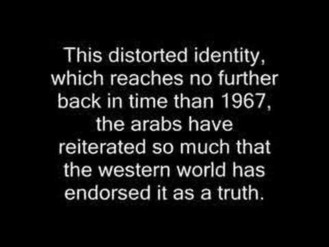 """A Myth Called """"The Palestinian People"""""""