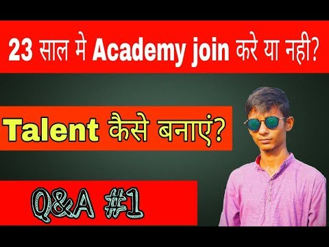Q&A #1- Best Age To Join Academy || Academy fees || Right Age to join Academy || Spo Tech