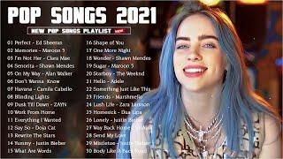 Maroon 5, Rihanna, Dua Lipa, Bruno mars, Ed Sheeran, Charlie Puth, Ariana Grande 🍉 Top Songs 2021
