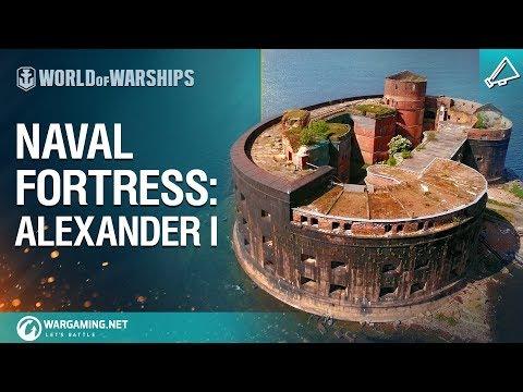 World of Warships - Naval Fortress: Fort Alexander I