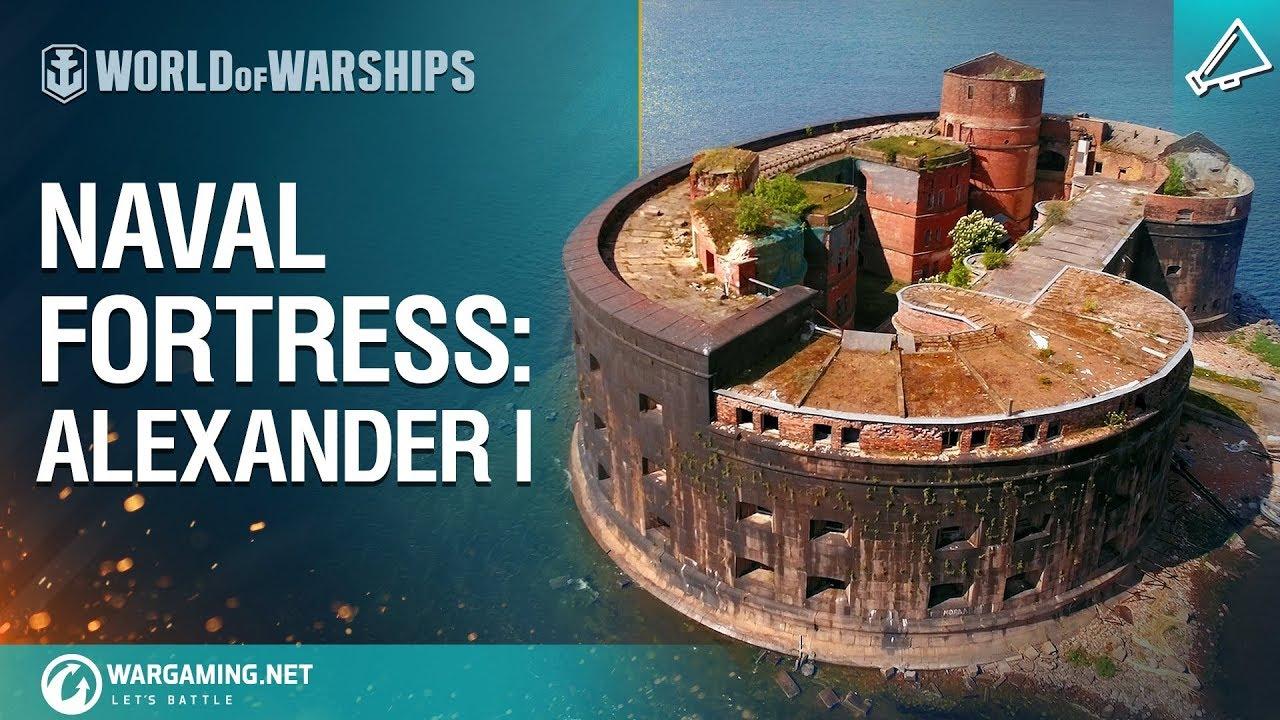 World of Warships – Naval Fortress: Fort Alexander I