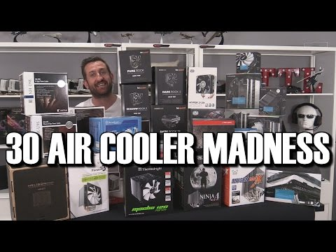 ULTIMATE CPU Air Cooler Round Up