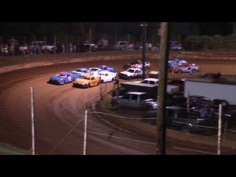 Winder Barrow Speedway Stock 4 Cylinders A's Feature Race 9/28/19