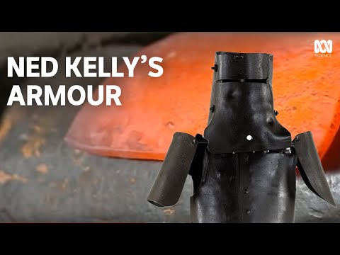 The true story of the Kelly Gang Armour