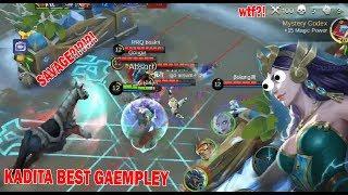 KADITA worst gameplay , just for fun! Mobile Legends