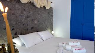 Traditional living at Esperas Santorini Hotel