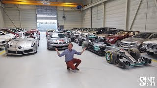 This is the SECRET Mercedes-Benz Collection EXCLUSIVE ACCESS