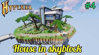 Making house in hypixel skyblock | #hypixelskyblock #hypixelminecraft #minecraft