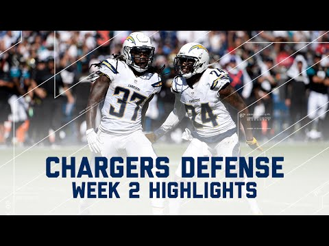 Chargers Defense Force 3 Blake Bortles Turnovers in 1st Half! | Jaguars vs. Chargers | NFL