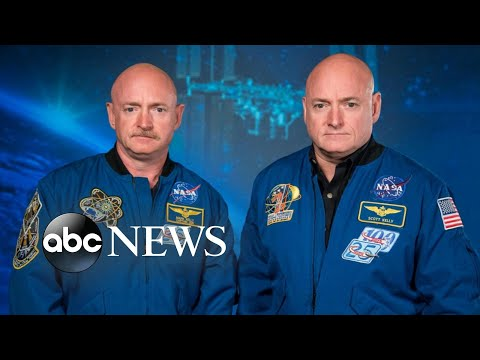NASA study reveals gene changes between twin astronauts