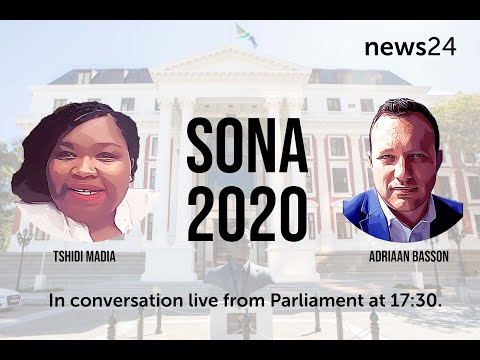 WATCH | SONA 2020: News24's live coverage to begin from 17:30