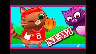 Котик Бубу играть онлайн скачать бесплатно игры для детей Играем в Футбол, Баскетбол / Kotik Bubu