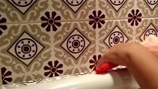 Tile Decals Kitchen/Bathroom tiles vinyl