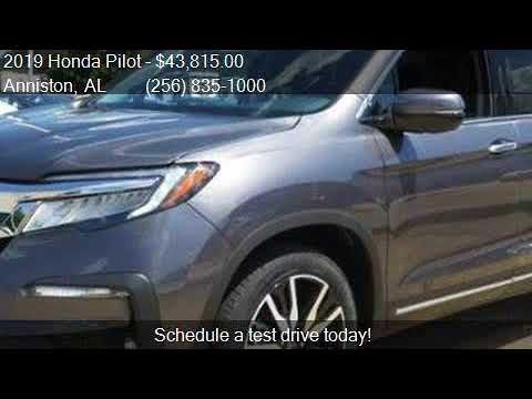 Honda Pilot Captains Chairs Barber Waiting 2019 Touring W Rear Captain S 4dr Suv For Youtube
