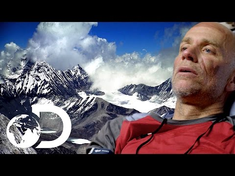 Climber Nearly Dies