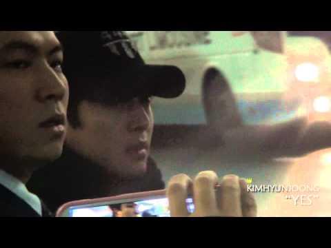 download [fancam] 130101 Kim Hyun Joong(김현중)@Incheon Itnl' Airport
