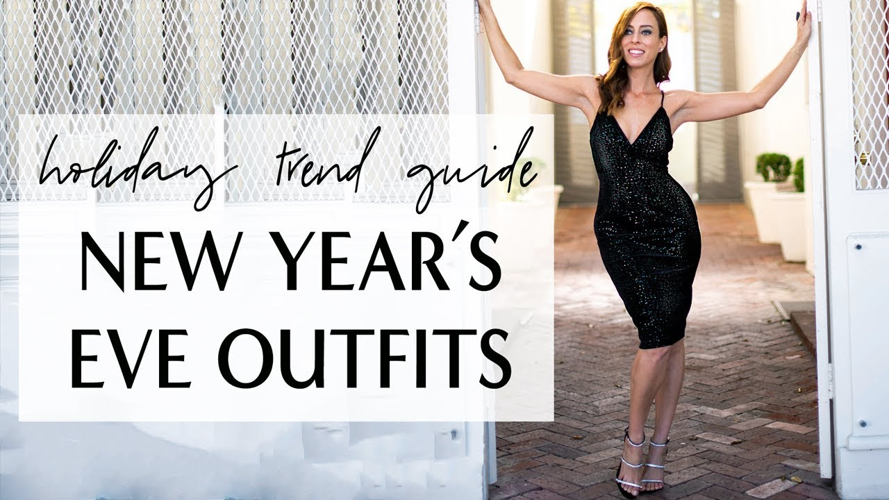NEW YEAR'S EVE OUTFITS I Holiday Trend Guide I Sydne Summer