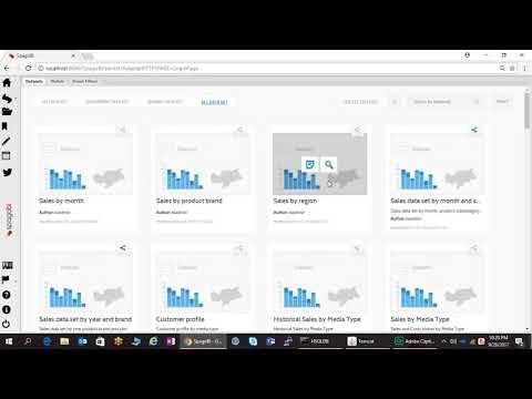 Adhoc Analysis Using Spagobi 5.2
