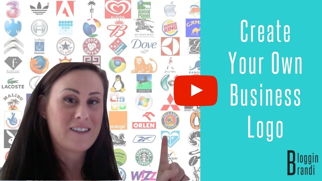 how to create a logo for your business for free youtube