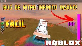 INSANE BUG OF INFINITE NITRO ON JAILBREAK-ROBLOX