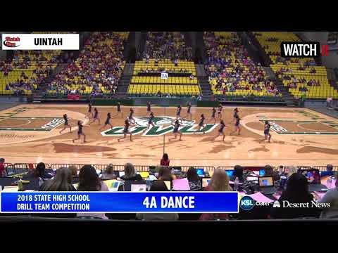 4A Uintah High School UHSAA Drill Team 2018