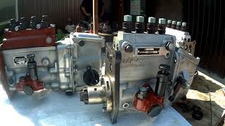 Топливный насос ТНВД СМД-14, СМД-18, СМД-22 в корпусе МТЗ УТН