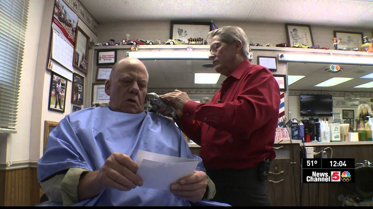 The Barber who makes house calls