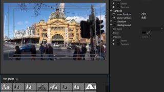 2015 Adobe Premiere CC Bir Başlık Oluşturma