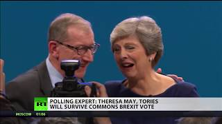 Polling expert: May and Tories will survive Commons Brexit vote