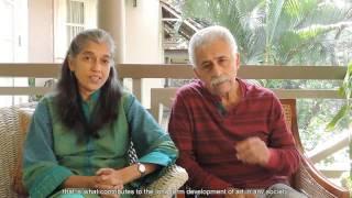 Small is Powerful ~ Naseeruddin Shah and Ratna Pathak Shah, Actors and IFA Patrons