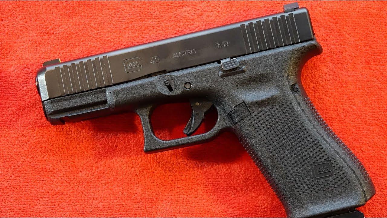Glock 45 9mm Pistol review