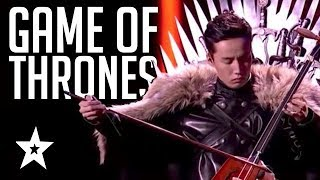 EPIC GAME OF THRONES PERFORMANCES Theme Tunes &amp Acts On Got Talent Got Talent Global