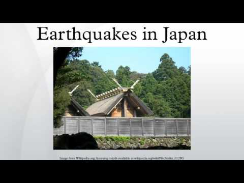 Earthquakes in Japan