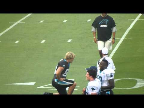 Carolina Panthers - Luke Kuechly, Thomas Davis, Greg Olsen