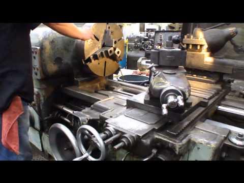 Online Auction Schaerer UD630 Gap Bed Engine Lathe