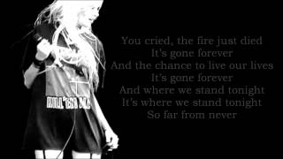 The Pretty Reckless - Far From Never (Lyrics)