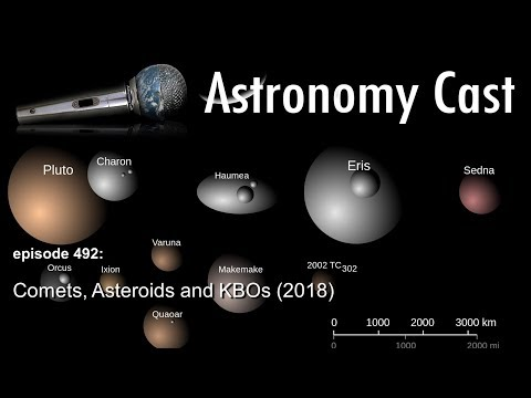 Astronomy Cast Ep. 492: Comets, Asteroids and KBO's