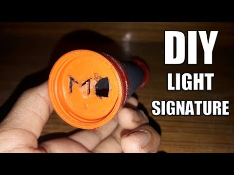 DIY SIGNATURE LIGHT