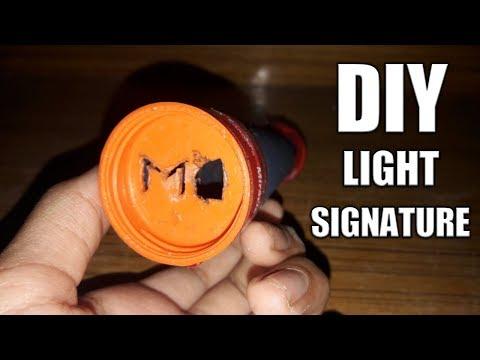 DIY SIGNATURE LIGHT