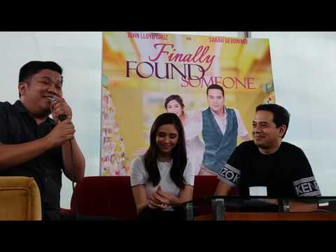 Direk Ted: Sarah & John Lloyd are intelligent actors | Finally Found Someone