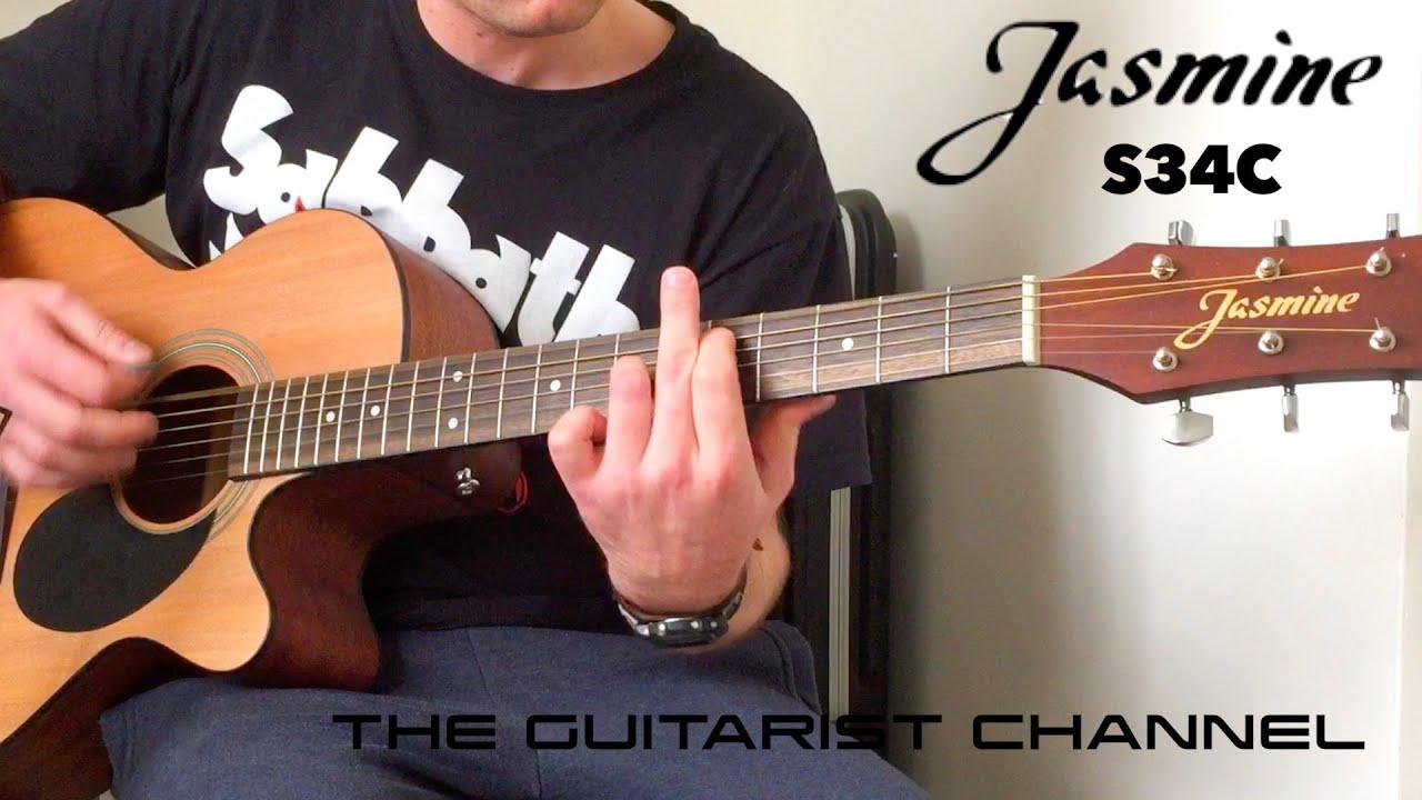 Nieuw Jasmine S34C (Best Budget Acoustic Guitar?) - YouTube WT-19