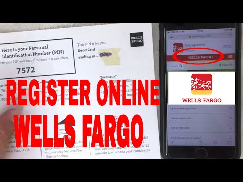 ✅  How To Register For Wells Fargo Online Banking Tutorial 🔴